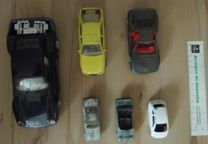 miniaturas auto acidentadas