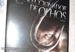 Filme dvd o coleccionador de olhos novo