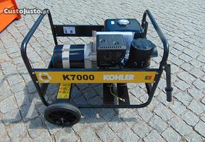 Gerador Kohler K7000 de 7Kwa a Gasolina Monofasico