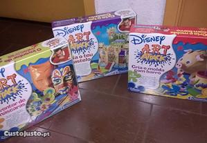 Kits didácticos Art Attack da Disney-Clementoni
