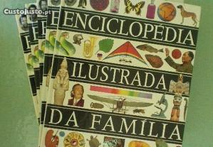 Enciclopédia Ilustrada da Família - 5 volumes