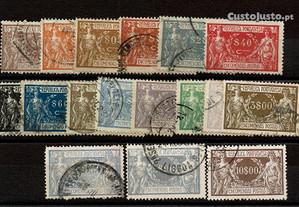 Selos Portugal 1920-Série