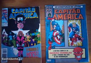 Capitão América - Livros