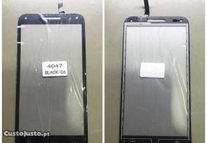 Vidro táctil / Touch para Alcatel U5 -Várias Cores