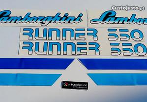 Autocolantes tractor LAMBORGHINI RUNNER 350