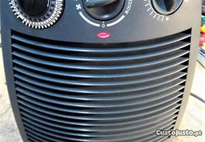 termoventilador com relógio/temporizador