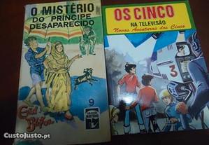 Livros aventuras vários