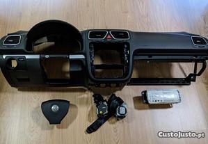 Kit Airbag Volkswagen Scirocco Tablier Original