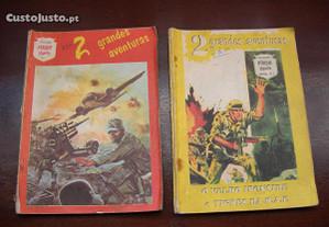 BD - colecção Ataque Gigante N.1 e N.3