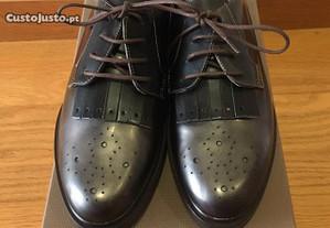 Sapatos derbies de senhora (tam 38)
