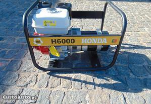 Gerador Honda H6000 de6Kwa Monofasico com Rectific