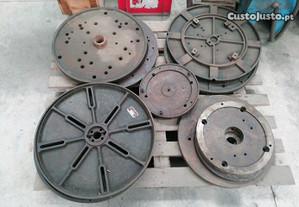 Pratos para torno mecânico
