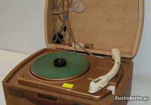 Leitor de Vinyl Portátil Dual Party 295