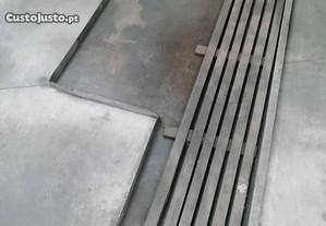 Tabuleito de retenção de óleo para torno mecânico