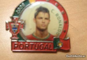 Pin Cristiano Ronaldo Jogador Seleção Portugal