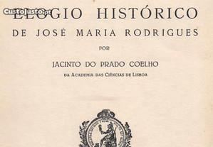 Elogio Histórico de José Maria Rodrigues