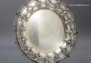 Bilheteira antiga em prata portuguesa