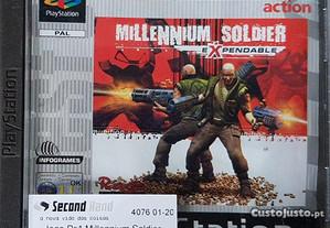Jogo Ps1 Millennium Soldier