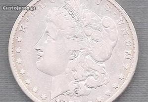 Moeda USA - Morgan Dollar Prata 1878