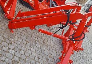 Carregador traseiro grua nova extensivel hidraulic