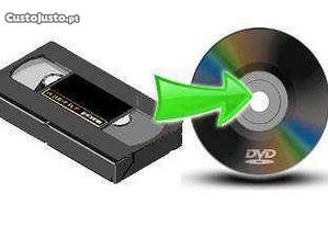 Mini-DV / VHS / VHS-C / Hi8 para DVD-digitalização