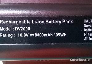 Bateria para portáteis COMPAQ e HP
