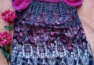 Blusa lilás M/L