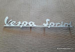 Vespa Sprint placa