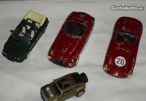 Lote de carros miniaturas