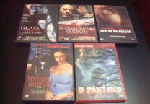 Lote 3 filmes terror alguns raros