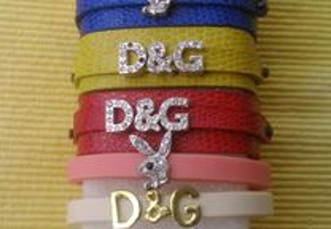 pulseiras D&G, Playboy
