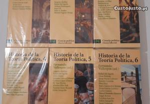 Historia de la teoría política (6 volumes)