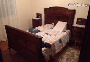 Mobília quarto de cama clássica (estilo antigo)