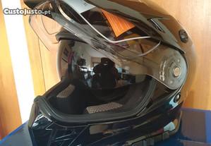 Capacete mota Enduro, Dual Sport da Axo