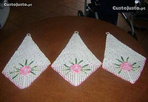Conjunto 3 peças para decoração oferta de portes