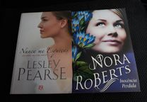 Obras de Lesley Pearse e Nora Roberts