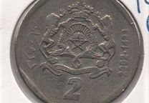 Marrocos - 2 Dirhams 1423 (2002) - mbc
