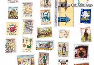 selos vários Portugal Provincias Ultramarinas