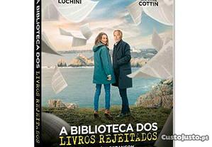 DVD A Biblioteca dos Livros Rejeitados NOVO! Selad