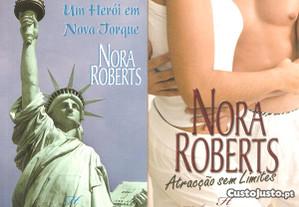 4 livros Harlequin Nora Roberts