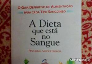 A dieta que está no sangue. Sérgio Teixeira