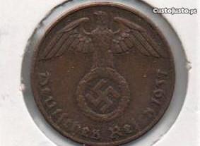 Alemanha (3º Reich) - 1 Reichspfennig 1937 A -bela