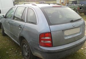 Peças Skoda Fabia 2003 TDI 100 cv