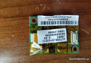 Placa Modem PK010001G00 Portatil TOSHIBA
