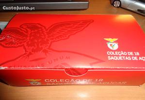 Coleção 18 Saquetas de Açucar do Benfica