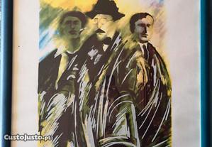 Serigrafia com Fernando Pessoa