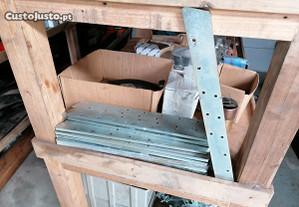 Puas para recolha de poda de trituradores