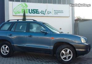 Peças de Hyundai Santa Fé I (SM) - ano 2004