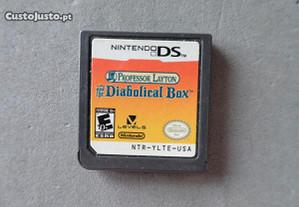 Jogo Nintendo DS - Professor Layton Diabolic Box