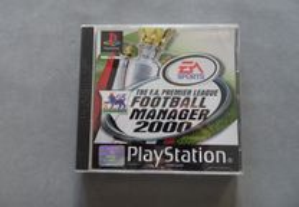 Jogo Playstation 1 Football Manager 2000
